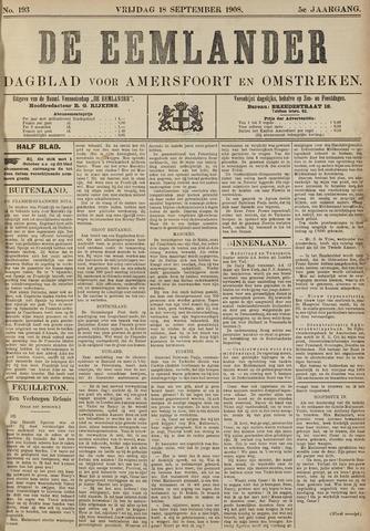 De Eemlander 1908-09-18