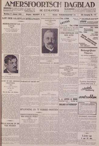 Amersfoortsch Dagblad / De Eemlander 1935-01-21