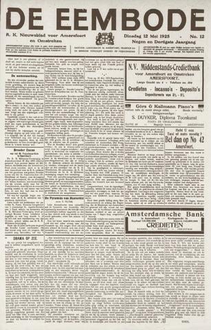 De Eembode 1925-05-12