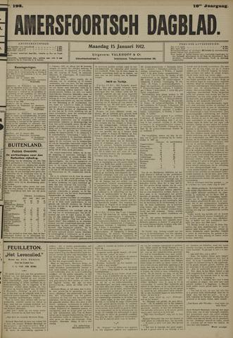 Amersfoortsch Dagblad 1912-01-15