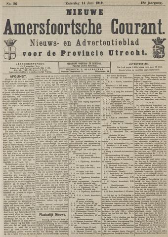 Nieuwe Amersfoortsche Courant 1919-06-14