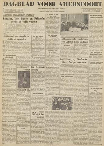 Dagblad voor Amersfoort 1946-10-01