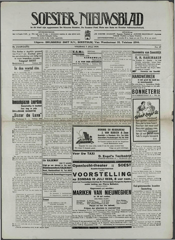 Soester Courant 1939-07-07