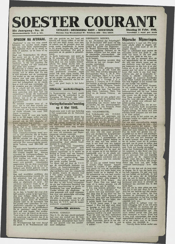 Soester Courant 1946-02-26