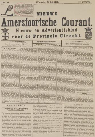 Nieuwe Amersfoortsche Courant 1915-07-21
