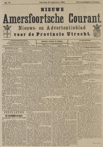 Nieuwe Amersfoortsche Courant 1905-09-16