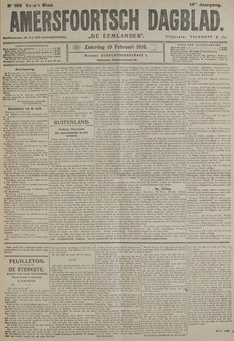 Amersfoortsch Dagblad / De Eemlander 1916-02-19