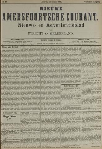 Nieuwe Amersfoortsche Courant 1885-10-31