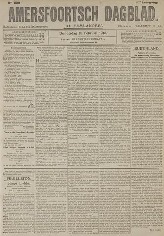 Amersfoortsch Dagblad / De Eemlander 1913-02-13