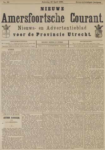 Nieuwe Amersfoortsche Courant 1898-04-23