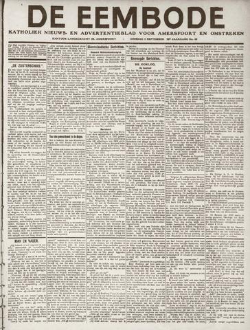 De Eembode 1918-09-03