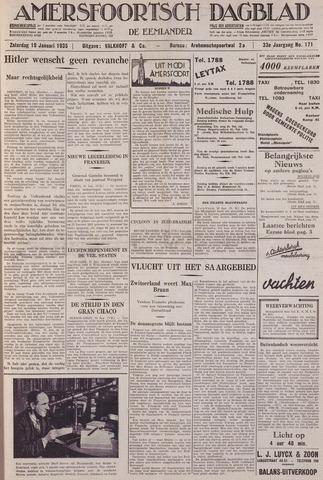Amersfoortsch Dagblad / De Eemlander 1935-01-19