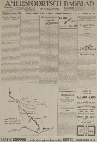 Amersfoortsch Dagblad / De Eemlander 1934-02-28