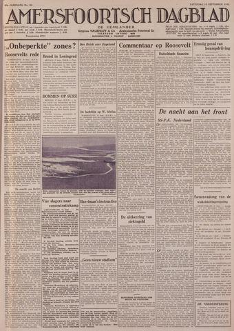Amersfoortsch Dagblad / De Eemlander 1941-09-13
