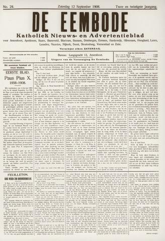 De Eembode 1908-09-12