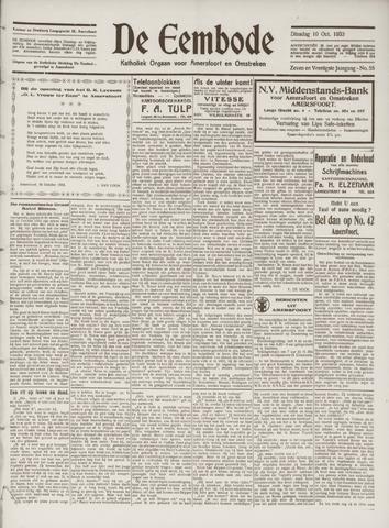 De Eembode 1933-10-10