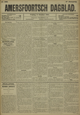Amersfoortsch Dagblad 1905-10-13