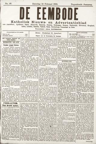 De Eembode 1906-02-24