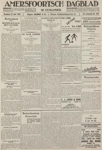 Amersfoortsch Dagblad / De Eemlander 1934-06-25