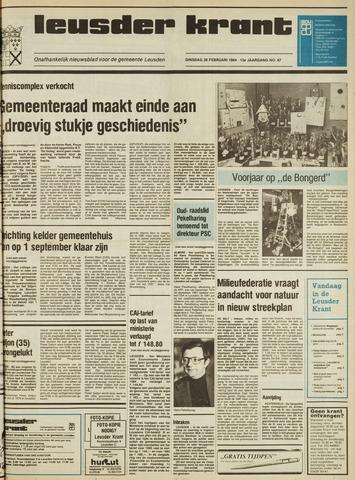 Leusder Krant 1984-02-28