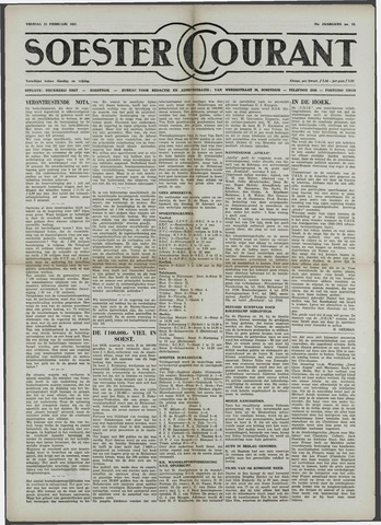 Soester Courant 1957-02-22