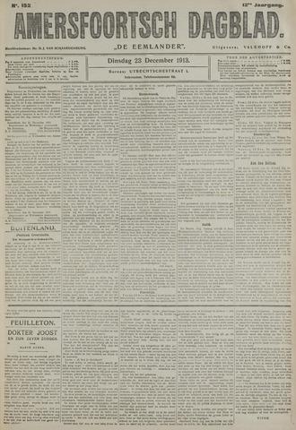 Amersfoortsch Dagblad / De Eemlander 1913-12-23