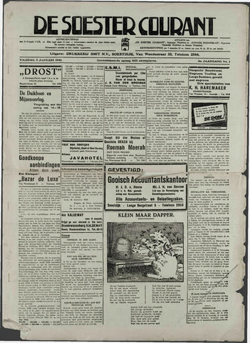 Soester Courant 1940-01-05