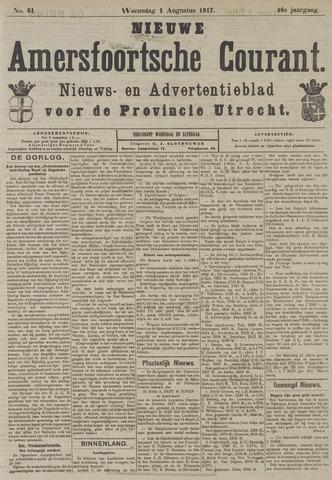 Nieuwe Amersfoortsche Courant 1917-08-01