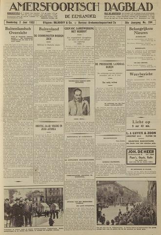 Amersfoortsch Dagblad / De Eemlander 1932-06-02