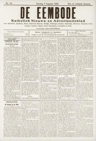 De Eembode 1909-08-07