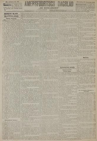 Amersfoortsch Dagblad / De Eemlander 1919-12-24