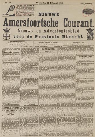 Nieuwe Amersfoortsche Courant 1914-02-11
