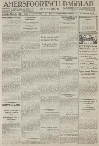 Amersfoortsch Dagblad / De Eemlander 1930-08-07