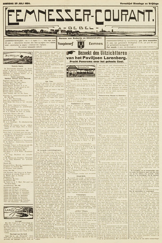 Eemnesser Courant 1924-07-29