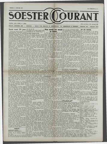 Soester Courant 1957-01-11