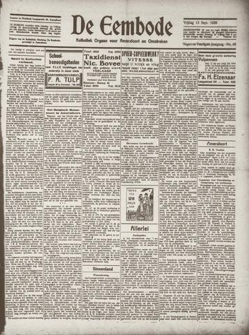 De Eembode 1935-09-13