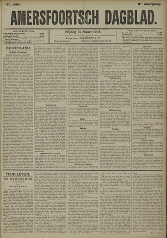 Amersfoortsch Dagblad 1908-03-13