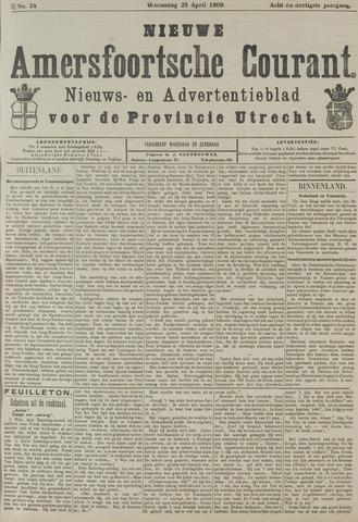 Nieuwe Amersfoortsche Courant 1909-04-28