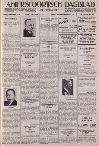 Amersfoortsch Dagblad / De Eemlander 1934-11-20