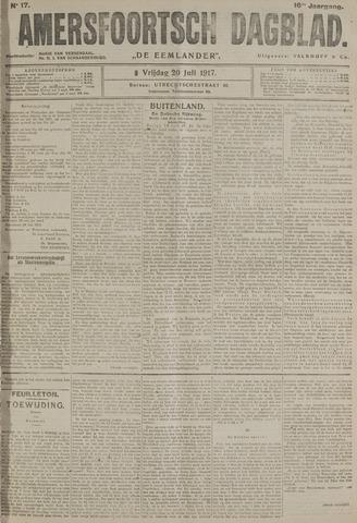 Amersfoortsch Dagblad / De Eemlander 1917-07-20
