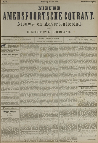 Nieuwe Amersfoortsche Courant 1885-06-24