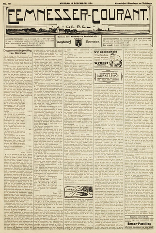 Eemnesser Courant 1924-12-19