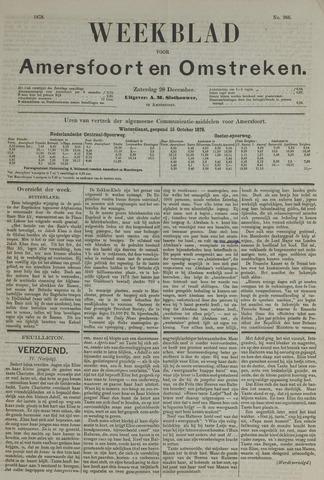 Weekblad voor Amersfoort en Omstreken 1878-12-28