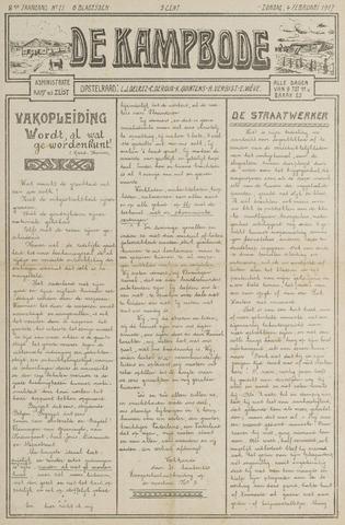 De Kampbode 1917-02-04