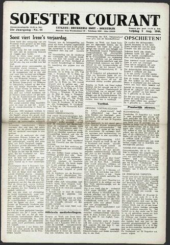Soester Courant 1946-08-09