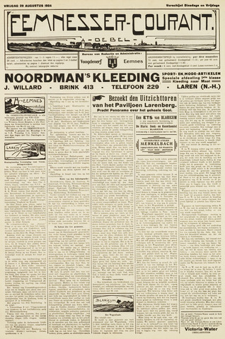 Eemnesser Courant 1924-08-29
