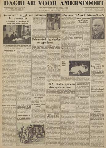 Dagblad voor Amersfoort 1946-10-09