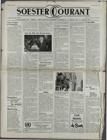 Soester Courant 1952-05-09