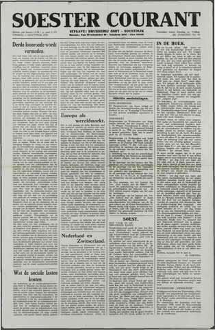 Soester Courant 1949-11-01