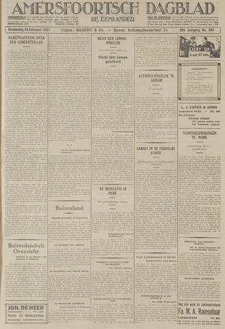 Amersfoortsch Dagblad / De Eemlander 1931-02-26